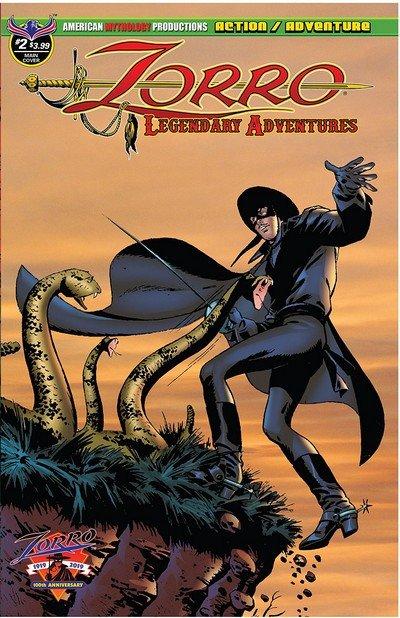 Zorro – Legendary Adventures #2 (2019)