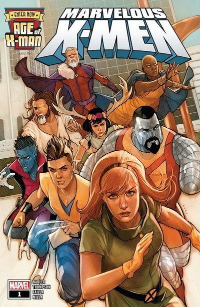 Age Of X-Man – The Marvelous X-Men #1 (2019)