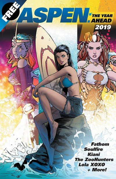 Aspen Comics 2019 – The Year Ahead (2019)