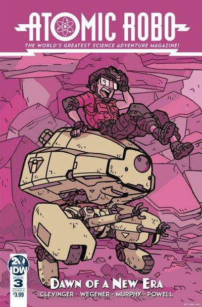 Atomic Robo – Dawn of a New Era #3 (2019)