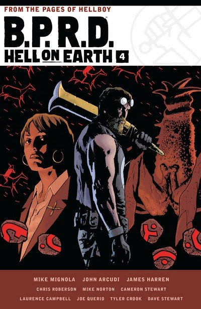 B.P.R.D. – Hell on Earth Omnibus Book 4 (2018)