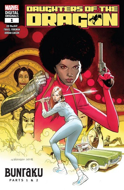Daughters of the Dragon #1 – 3 (2018-2019)