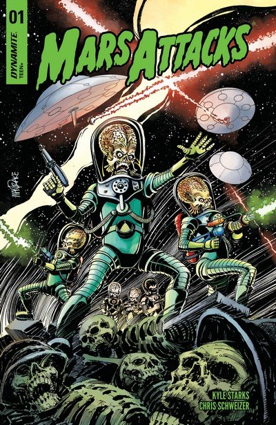Mars Attacks Vol. 2 #1 – 5 (2018-2019)
