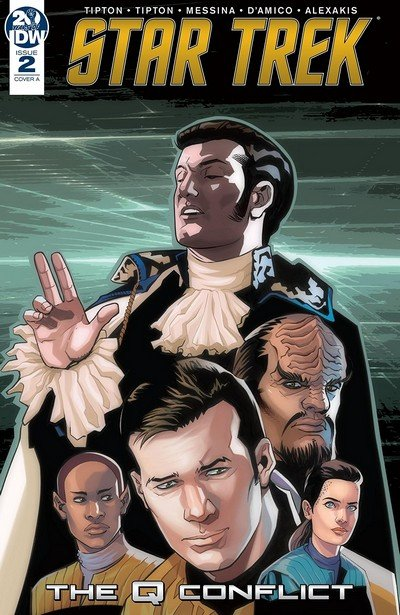 Star Trek – The Q Conflict #2 (2019)