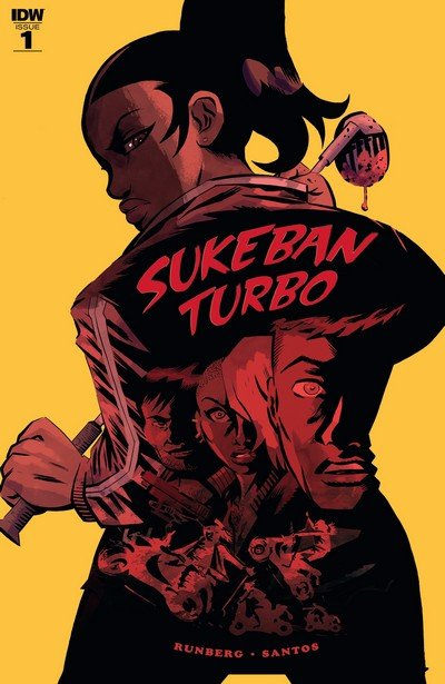Sukeban Turbo #1 – 4 (2018-2019)