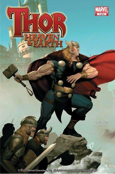 Thor – Heaven and Earth #1 – 4 (2011)