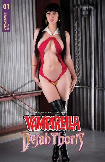 Vampirella – Dejah Thoris #1 – 5 (2018-2019)