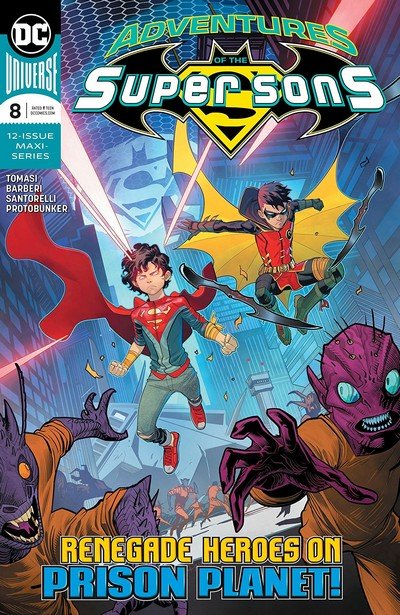 Adventures Of The Super Sons #8 (2019)