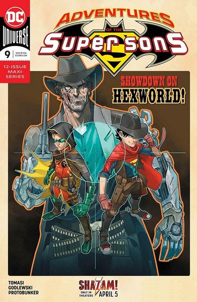 Adventures Of The Super Sons #9 (2019)