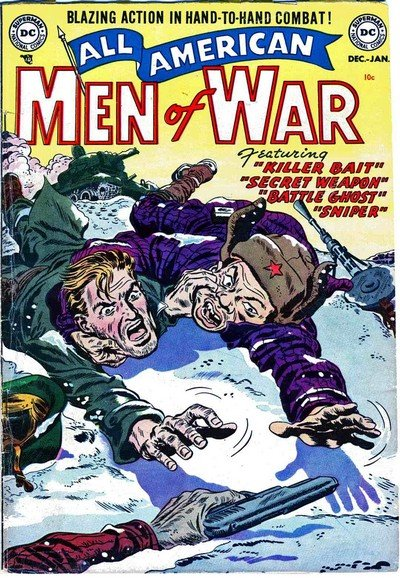 All American Men of War #1 – 128 (1952-1966)