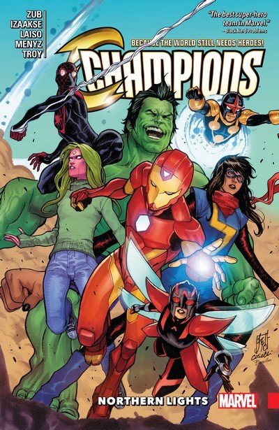 Champions Vol. 4 – Northern Lights (TPB) (2019)