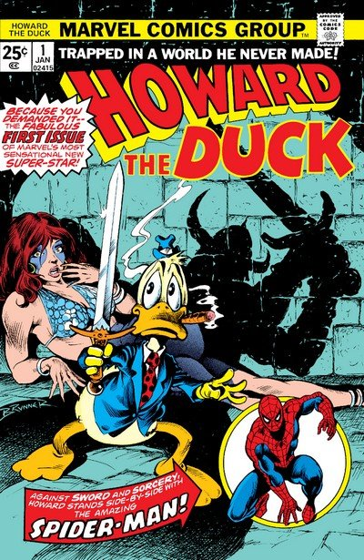 Howard the Duck Vol. 1 #1 – 33 + TPBs (1976-1979 + 2015-2016)