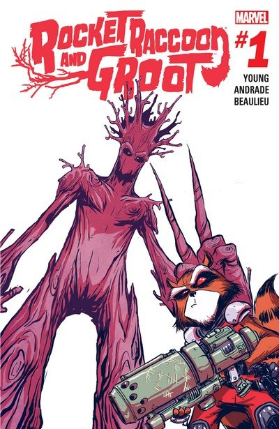 Rocket Raccoon and Groot #1 – 10 + TPBs (2016)