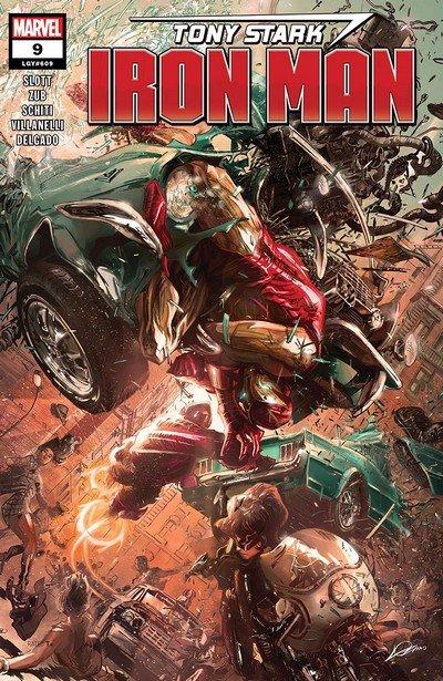 Tony Stark – Iron Man #9 (2019)