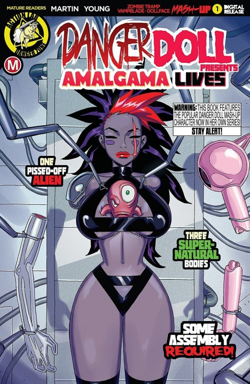 Danger Doll Squad Presents – Amalgama Lives #1 (2019)