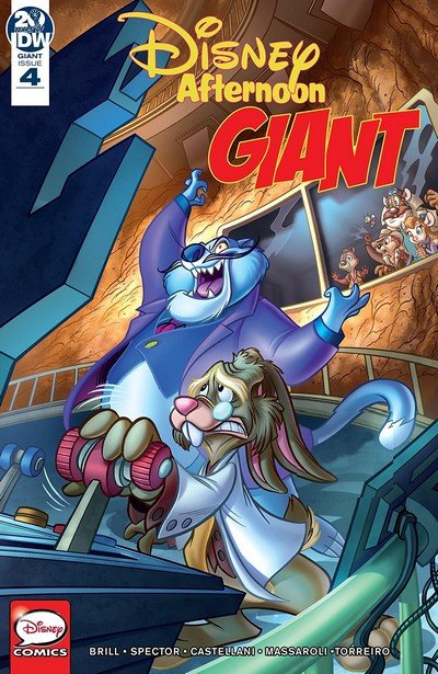 Disney Afternoon Giant #4 (2019)