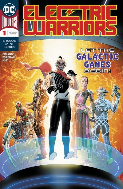 Electric Warriors Vol. 2 #1 – 6 (2018-2019)