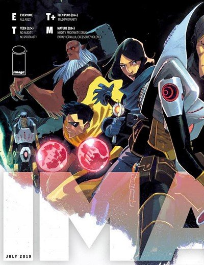 Image Comics Previews for July 2019