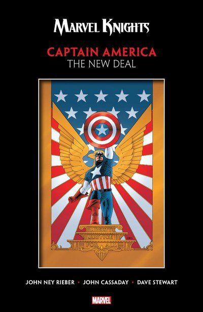 Marvel Knights Captain America by Rieber & Cassaday – The New Deal (2018)