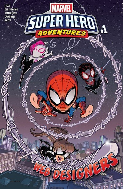 Marvel Super Hero Adventures – Spider-Man – Web Designers #1 (2019)