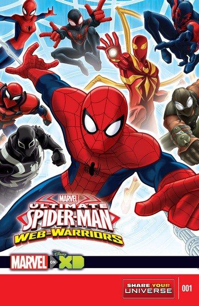 Marvel Universe Ultimate Spider-Man – Web Warriors #1 – 12 (2015)