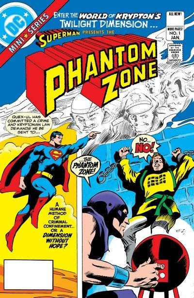 Superman – Phantom Zone #1 – 4 (1982)