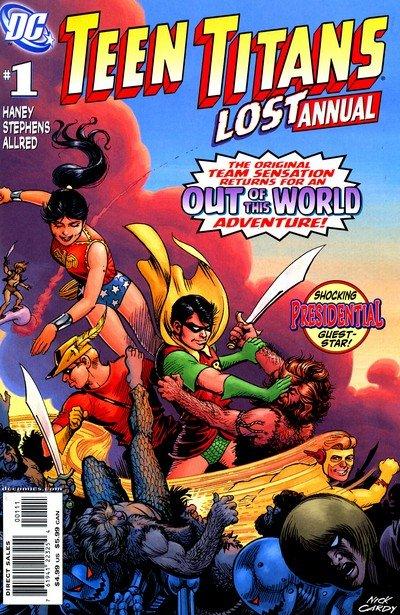 Teen Titans Lost Annual #1 (2008)