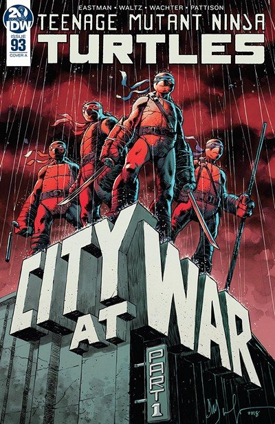 Teenage Mutant Ninja Turtles #93 (2019)