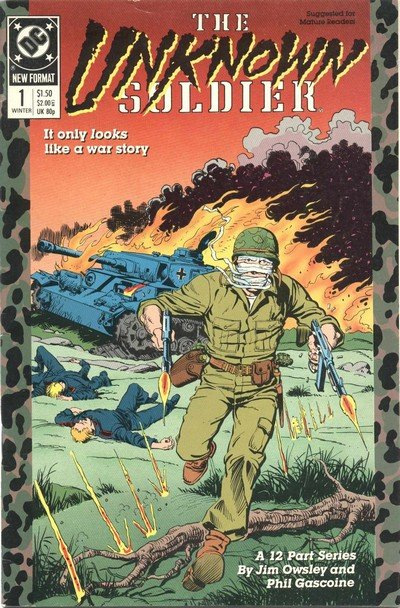 The Unknown Soldier Vol. 2 #1 – 12 (1988-1989)