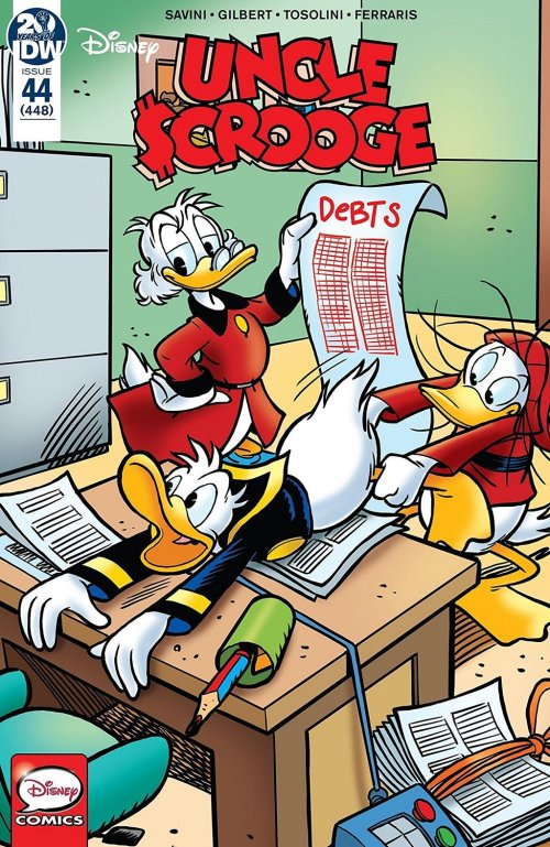 Uncle Scrooge #44 (2019)