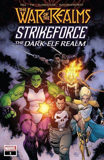 War Of The Realms Strikeforce – The Dark Elf Realm #1 (2019)