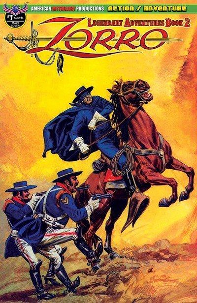 Zorro – Legendary Adventures Book 2 #1 (2019)