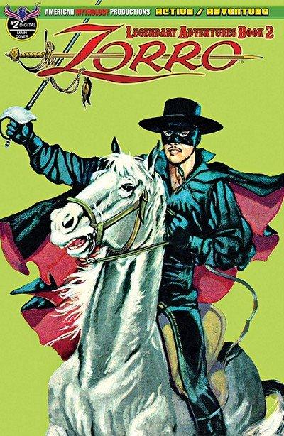 Zorro – Legendary Adventures Book 2 #2 (2019)