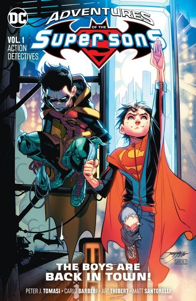 Adventures of the Super Sons Vol. 1 – Action Detectives (TPB) (2019)