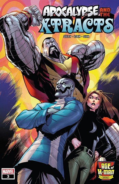 Age Of X-Man – Apocalypse And The X-Tracts #3 (2019)