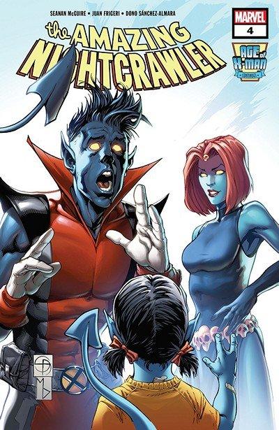 Age Of X-Man – The Amazing Nightcrawler #4 (2019)