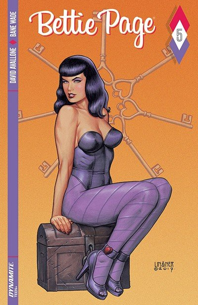 Bettie Page #5 (2019)