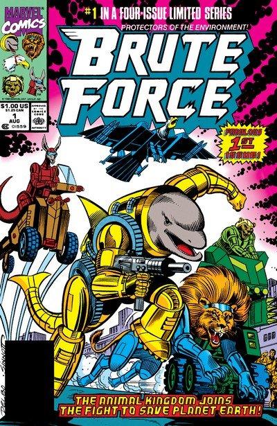 Brute Force #1 – 4 (1990)