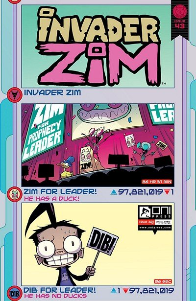 Invader Zim #43 (2019)