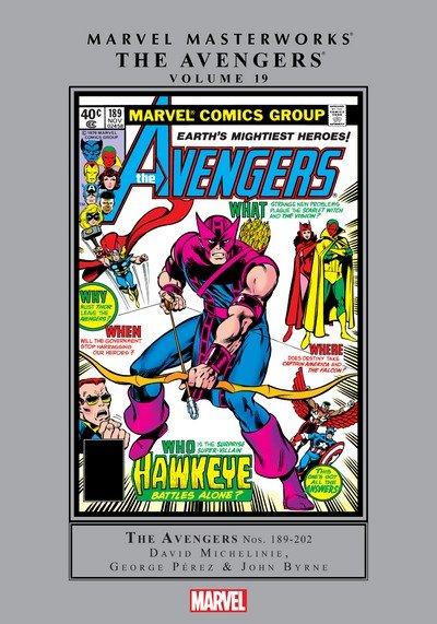 Marvel Masterworks – The Avengers Vol. 19 (2019)