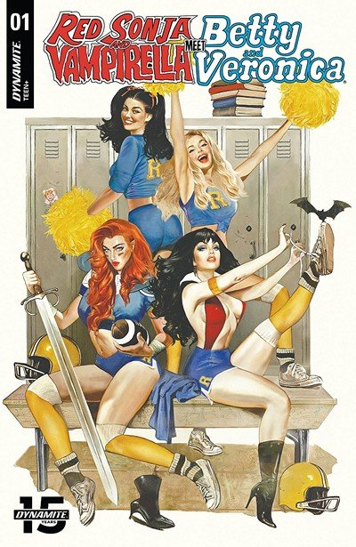 Red Sonja and Vampirella Meet Betty and Veronica #1 (2019)