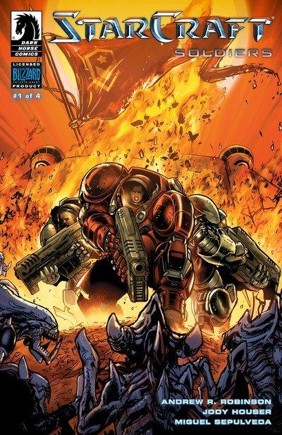 Starcraft – Soldiers #1 – 4 (2019)