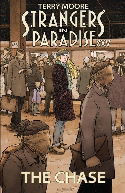 Strangers in Paradise XXV Vol. 1 – The Chase (TPB) (2018)