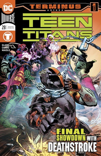 Teen Titans-Deathstroke – The Terminus Agenda (Story Arc) (2019)