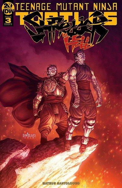 Teenage Mutant Ninja Turtles – Shredder In Hell #3 (2019)