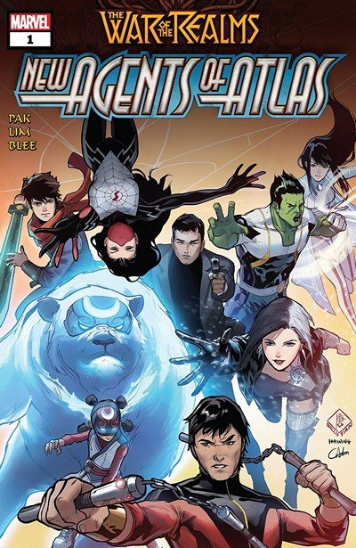 War Of The Realms – New Agents Of Atlas #1 (2019)