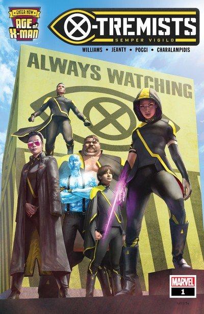 Age of X-Man – X-Tremists #1 – 5 (2019)