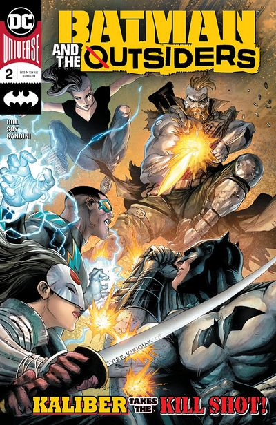 Batman And The Outsiders #2 (2019)