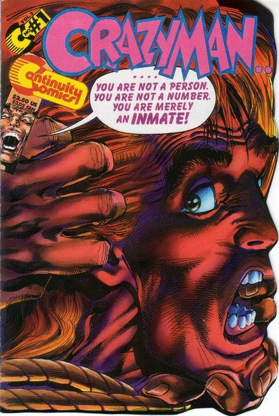 Crazyman Vol. 2 #1 – 4 (1993-1994)