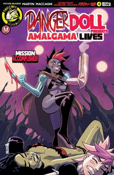 Danger Doll Squad Presents – Amalgama Lives #4 (2019)